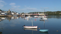 Killybegs Harbour 1 Stock Video Footage