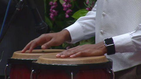 drums hands Stock Video Footage