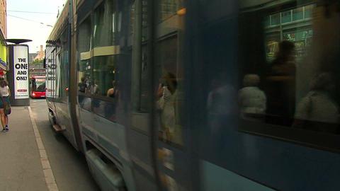 City traffic 1 Stock Video Footage