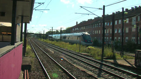 High speed train 1 Stock Video Footage