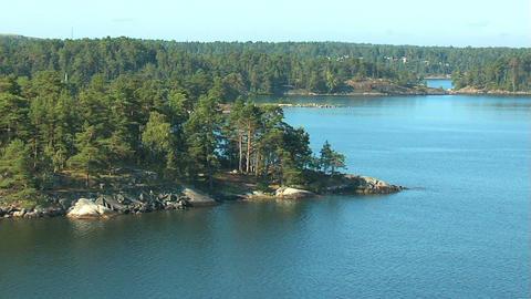 Islands in Scandinavia 1 Stock Video Footage
