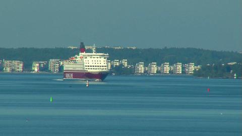 Ocean liner 12 Stock Video Footage