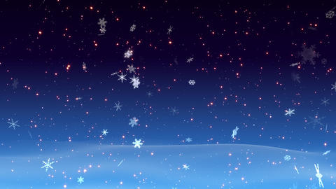 Winter Snow Bs1 HD Stock Video Footage