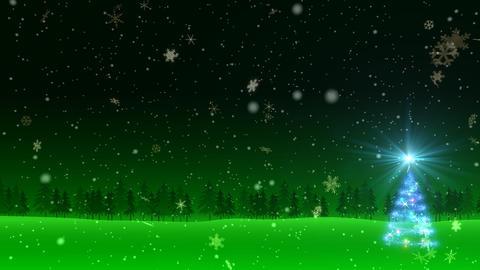 Winter Snow Bw2 HD Animation