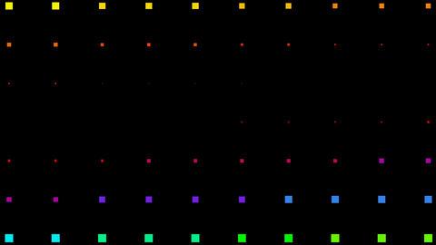 color square neon light background,Color square matrix,... Stock Video Footage