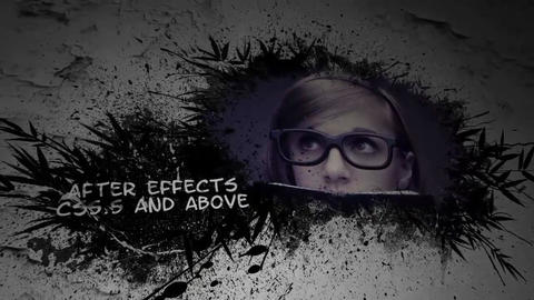 SPLATTER After Effects Template