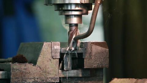metal milling Footage