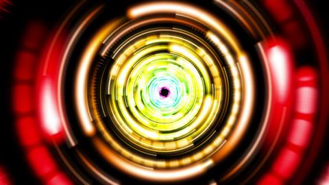 Funky VJ Tunnel V1 Animation