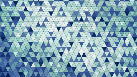 Glowing mosaic abstract background animation Animation