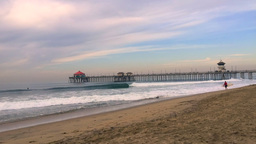 Time lapse of pier Footage