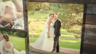 Gallery Wedding Story template After Effects Template