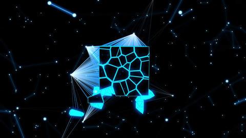 Space Bio Life Vj Loop 01 Animation