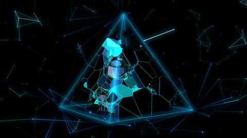Space Bio Life Vj Loop 03 Animation