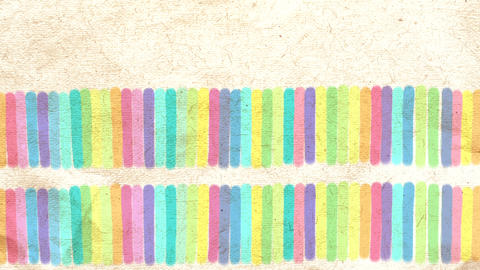 Hand Drawn Colorful Abstract Background On Paper.  stock footage