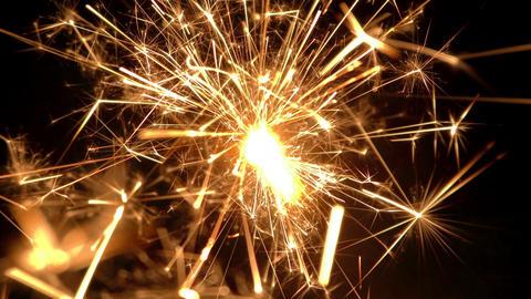 sparkler slow motion 03 Footage