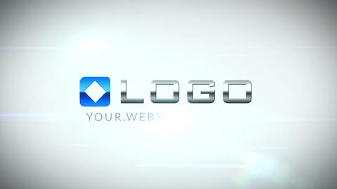 Corporate 3D Business Logo Spin Intro After Effects Template