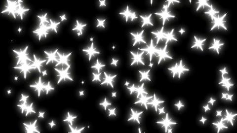 星回転 白 CG動画