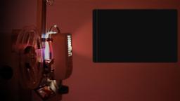 Alpha Channel Reel Projector Stock Video Footage