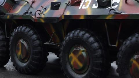 Armored Transportation Vehicle Footage