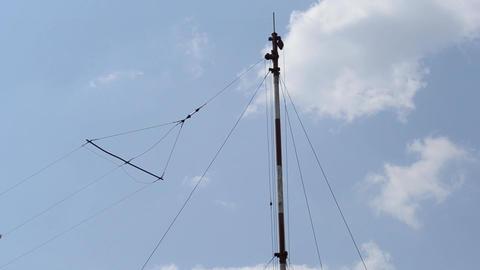 Aviation Radio Station Antenna Live Action