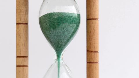 Hour Glass Upper Bulb Drain Footage