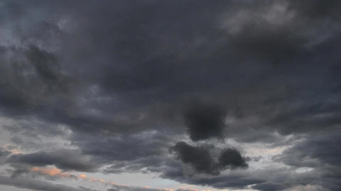 Last Clouds after the Storm Timelapse Footage