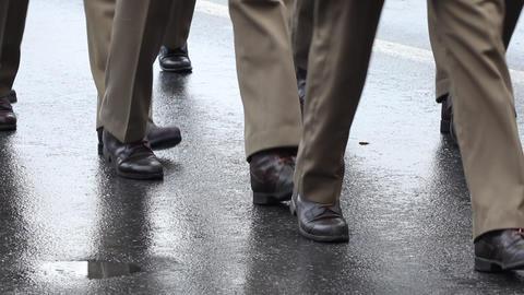 Man Walking in Shoes Footage