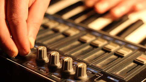 MIDI Music Keyboard Set Up Live Action