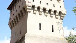 Medieval Citadel Bastion Footage