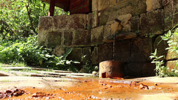 Mineral Water Spring Footage