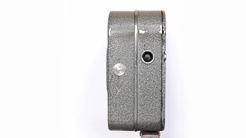 Old Hand Held Reel Film Camera 7 Footage