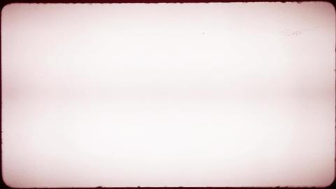 Red Grunge Damaged Film Footage