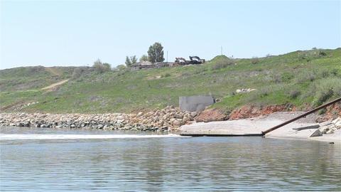 Sewage Pipe Polluting Sea Footage