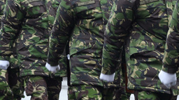 Soldiers Walking Footage