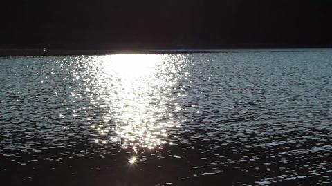 Sun Light Water Sparkles Footage