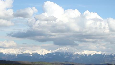 Towards Mountains Horizon Footage