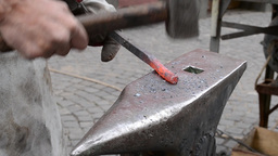 Traditional Manufacturing of Wrought Iron Footage