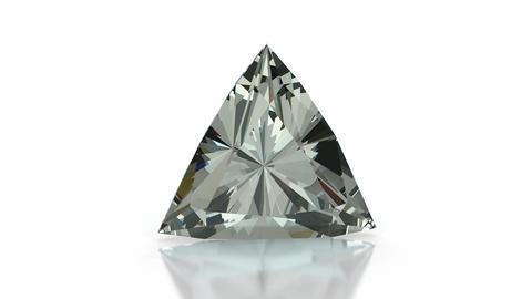 Trilliant cut diamond Animation