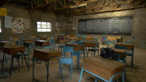 African School stock footage