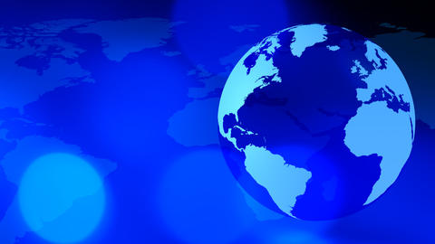 News rotating world and map backgrounds Animation