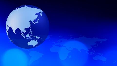 Internet world concept background Animation