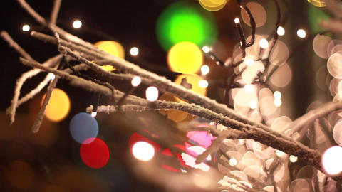 Christmas lights Footage