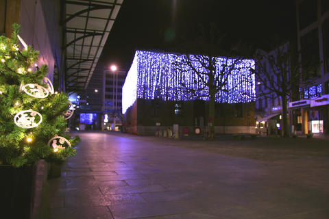 Geneva at christmas Footage
