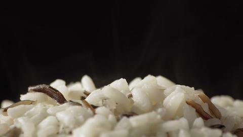 Rice Mix Rotating stock footage