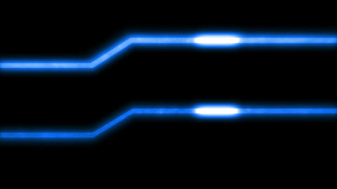 Energy Lines Blue stock footage