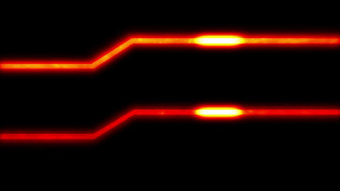 Energy Lines Red Animation