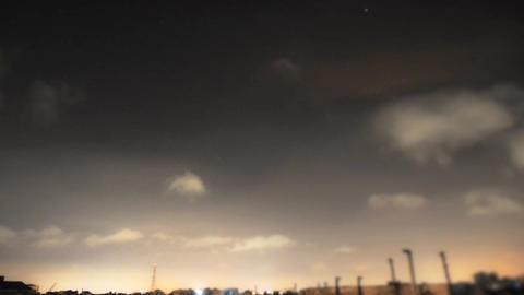20120814 Sky 003 stock footage