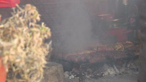 Chicken meat Footage