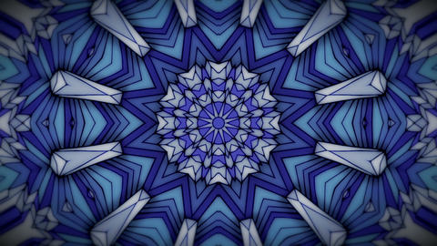 Abstract animation kaleidoscope background Animation