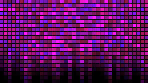 Blinking Tiles Background - Loop Pink Animation